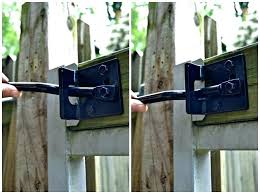 fence gate locks privacy fence gate locks adjusting gate latch arm home design for glass