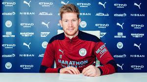 De Bruyne verlängert seinen Vertrag bei Manchester City: