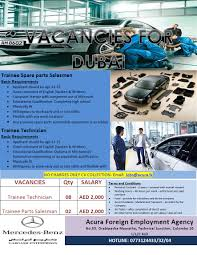 good mand of english spoken written educational qualification diploma in mechanical automotive engineering or an equivalent qualification