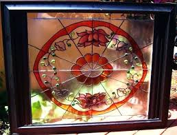 hobby lobby stained glass from this design on old window with liquid lead from hobby lobby hobby lobby stained glass