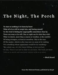 Mark Strand on Pinterest | Strands, Poem and Poetry via Relatably.com