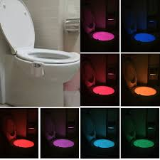 Toilet Night Light Nnxdeal Motion Activated Glow Led Toilet Seat