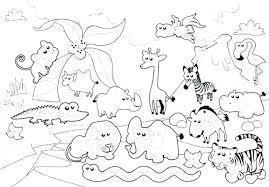 Zoo Coloring Sheets Printable Zoo Animal Coloring Sheets Printable
