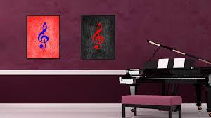 treble music office home d cor wall art frames gift spotcolorart on home decor wall art nz with home decor wall art nz home painting