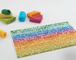A Touch Of LaceColorful Bathroom Rugs