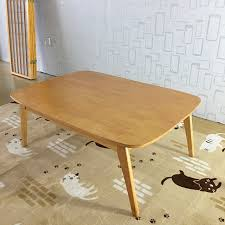 Natural color furniture Havana Leather Modern Wood Table Kotatsu Japanese Style Living Room Furniture Coffee Table Naturaldark Walnut Color Asian Center Table Wooden Outdoor Playground Equipment Modern Wood Table Kotatsu Japanese Style Living Room Furniture