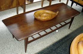 image of mid century coffee table plans