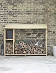 build your own log store this winter.
