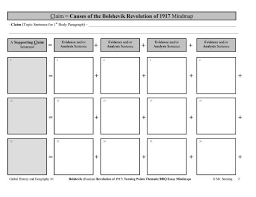 global history thematic essay graphic organizers for thematic essays for global regents