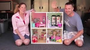 diy modern bookshelf dollhouse with cathie steve youtube bookcase dolls house emporium