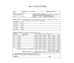 Free Printable Expense Report Forms Mesmerizing Travel Expense Report Forms Templates Template Archive Free Business