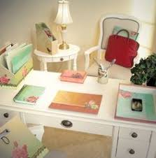 shabby chic office decor. Shabby Chic Office Accessories. Desk Accessories; Girl With The Pink Bow: Decor C