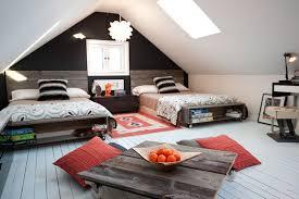 Attic Bedroom Decorating Ideas attic decorating ideas bright and modern 6  loft room for unused