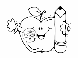 Small Picture School Coloring Pages To School Backpack Coloring Page For Kids