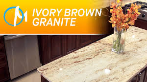 Ivory Brown Granite ivory brown granite countertops iii marble youtube 2712 by uwakikaiketsu.us