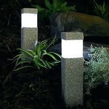 led pathway lights. Led Pathway Light Solar Lights 2 Powered Stone Effect Square Post Path . R
