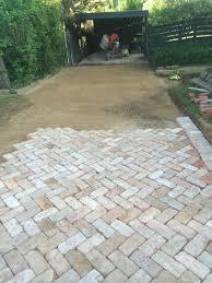 brick paver patio outdoor patio pavers