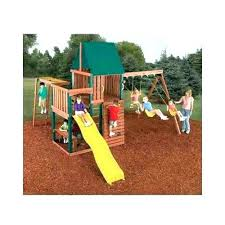 swing set kits and plans wood swing set kits swing n slide swing set wood complete