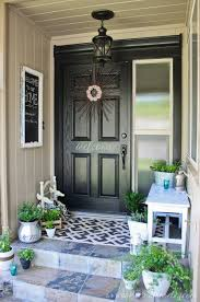 Amazing front porch winter ideas on budget Small Front Lots Of Charm On Small Front Porch Prolandscape Landscaping Ideas How To Decorate Small Front Porch Worthing Court