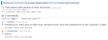 Of Exposure Reddit Bans News Fake