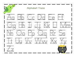 Letters By Number Free Printable Letter And Number Tracing Worksheets A M H Trace
