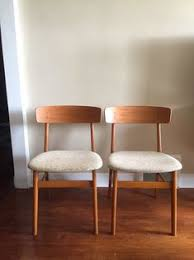 mid century modern danish teak dining chairs by farstrup listed is for both chairs teak chairs vine teak chairs