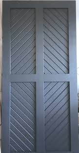 custom handcrafted sliding barn doors navy blue chevron