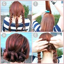 Very Easy Cute Hairstyles Quick And Easy Updo Hairstyles For Medium Length Hair I Wish I
