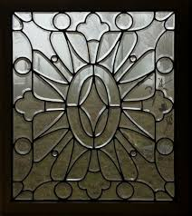 fid7009 antique american beveled glass door panel