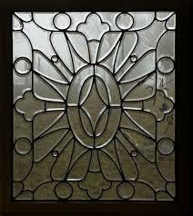 fid7009 antique american beveled glass door panel