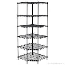 new heavy duty wire steel 6 tier corner shelf garage storage shelving rack c706 b00ok0j5zc