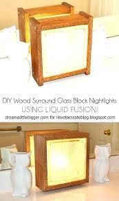 glass blocks crafts ideas decorative glass blocks awesome ideas for lighted decorative glass blocks or blog glass blocks crafts ideas