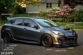 First Real Project Using Photoshop Mazda 3 Hatchback Mazda Mazda 3