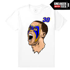 Steph Curry Golden State Warriors Ultimate Warrior White T Shirt