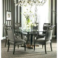 60 inch glass table top round dining room 1 2 36 x