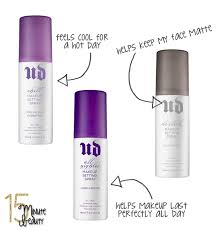urban decay makeup setting sprays review