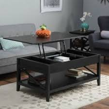 $350 Belham Living Hampton Lift Top Coffee Table   Black   Coffee Tables At  Hayneedle