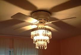princess ceiling fan chandelier