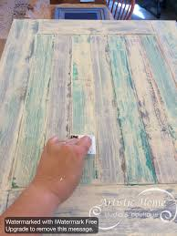Paint Wash On Wood How To Create An Aged Look On New Wood For The Home Pinterest