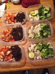 My First Meal Prep Basic Chicken Veggies And Rice Enough
