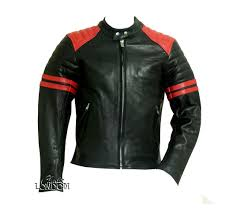 mens vintage style leather jackets