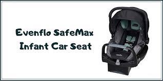 evenflo safe max safemax infant car