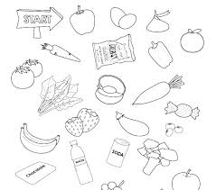 New Healthy Foods Coloring Pages Or Nutrition Coloring Page Healthy