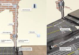 electric floor heating wiring diagram electric wiring diagram for underfloor heating contactor wiring on electric floor heating wiring diagram