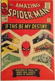 amazing spider man 31 very fine 7 0 first by marvelhouseics