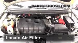 interior fuse box location 2011 2014 ford edge 2013 ford edge 2011 2014 ford edge engine air filter check