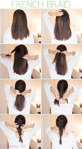 How To Do A French Braid For Medium Length Hair