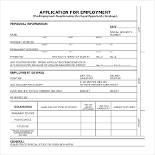 Sample Generic Application For Employment Awesome Form 48 Erkaljonathandedecker