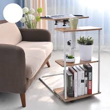 high quality liftable laptop desk modern minimalist bedside table with small table folding mobile bedside table