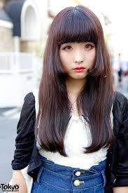 Korean Girl Hair Style nautical top in harajuku japanese street fashion pinterest 2801 by wearticles.com